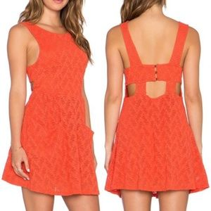 Free people poppy  dress small